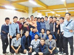Bang Eja dan tim Logika 2013. Sumber : Dok. Pri MRAP