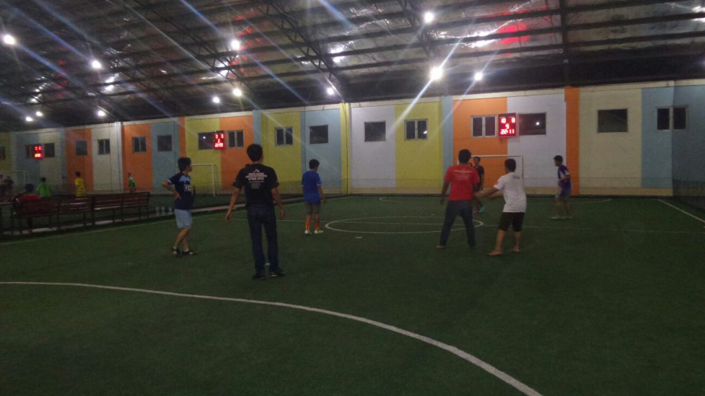 Futsal MBUI   Credit by : Gilang Prima