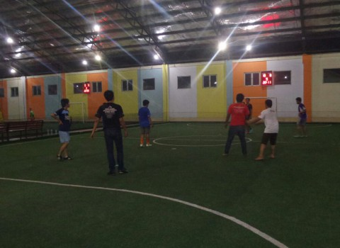 Futsal MBUI | Credit by : Gilang Prima