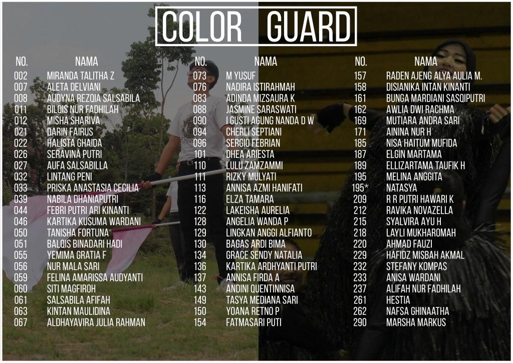 Cadets Guard